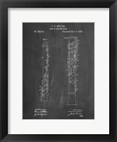 Framed Chalkboard Oboe Patent