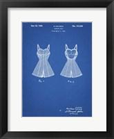 Framed Blueprint Bathing Suit Patent