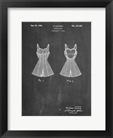 Framed Chalkboard Bathing Suit Patent