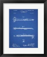 Framed Blueprint Dispensing Hammer Patent