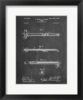 Framed Chalkboard Dispensing Hammer Patent