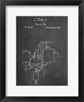 Framed Chalkboard Pasteurized Milk Patent