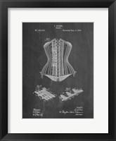 Framed Chalkboard Corset Patent