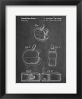 Framed Chalkboard Apple Logo Flip Phone Patent