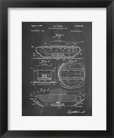 Framed Chalkboard Military Self Digging Tank Patent