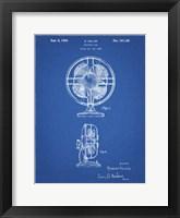Framed Blueprint Table Fan Patent