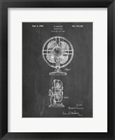 Framed Chalkboard Table Fan Patent