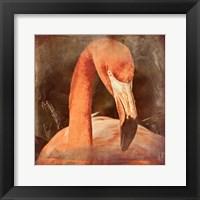 Framed Flamingo Masquerade