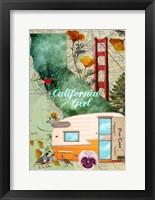 Framed California Girl