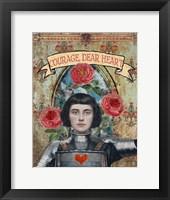 Framed Courage Dear Heart