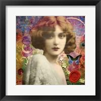 Framed Mademoiselle Amour