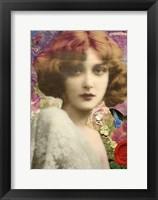 Framed Mlle. Love