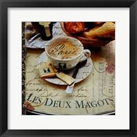 Framed Petite Dejeuner
