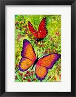 Framed Butterfly Sparkles