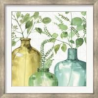 Framed Mixed Greens LV