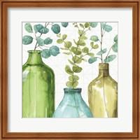 Framed Mixed Greens LVI