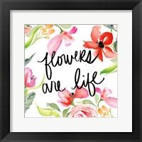 Framed Bloom to Remember II
