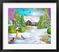 Framed Cottage of Delight