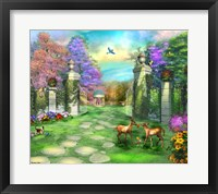 Framed Gate of Tranquility