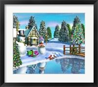 Framed Holiday Cheer