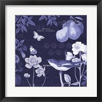Framed Botanical Blue VI