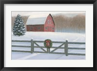 Framed Christmas Affinity VI
