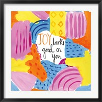 Framed Abstract Affirmations IV