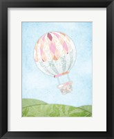 Framed Hot Air Balloon