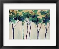 Framed Creamy Trees