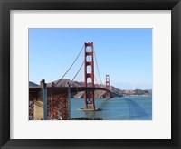 Framed Golden bridge