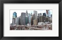 Framed Skyline New York