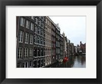 Framed Damrak Amsterdam 2
