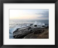 Framed La Jolla Sea 1