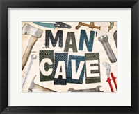 Framed Man Cave Tools