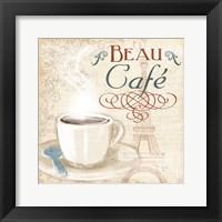 Framed Beau Cafe