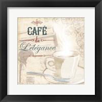 Framed Cafe Lelegance