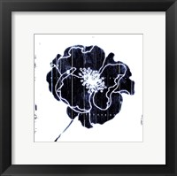 Framed Blue Flower