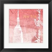 Framed Blush NY
