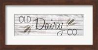 Framed Old Dairy CO