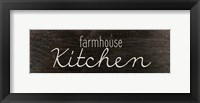 Framed Farmhouse Kitchen