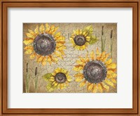 Framed Sunflower Day