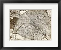 Framed Paris 1878