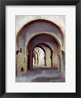 Framed Streets of Morocco