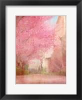 Framed Pink Pathway