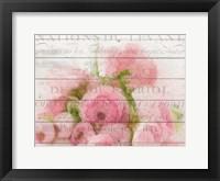 Framed Roses in Paris