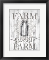 Framed Farm Sweet Farm