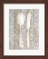 Framed Antique Cutlery 2