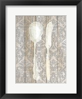 Framed Antique Cutlery 2