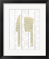 Framed Kitchen Utensils 4