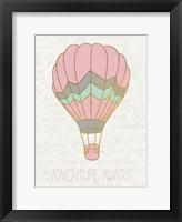 Framed Balloon Ride 1